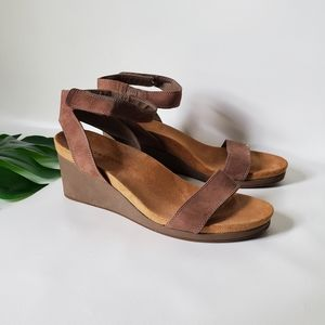 Lucky Brand Domingo Leather Sandals